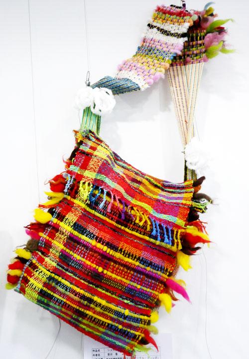 さをり織り作品1